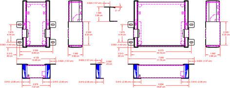 Radio Design Labs EZ-UCB2 Under Counter Bracket EZ-UCB2