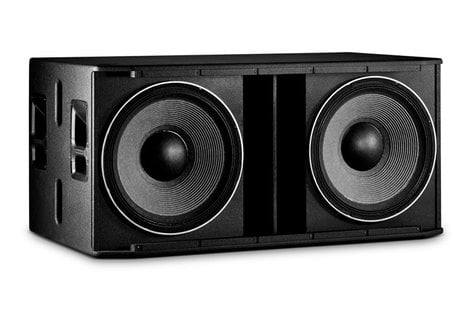 JBL SRX828SP Dual18SelfPoweredSubwoofer with 2000W Peak Crown Amplifier SRX828SP