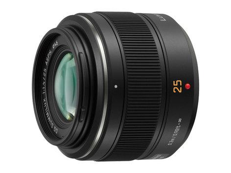 Panasonic H-X025 LEICA DG SUMMILUX 25mm F1.4 ASPH Prime Lens HX025