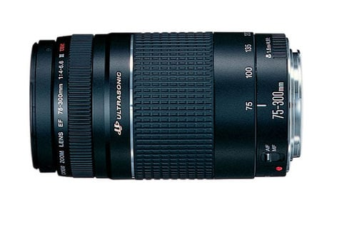 Canon 6472A002 EF 75-300mm f/4-5.6 III USM Lens 6472A002