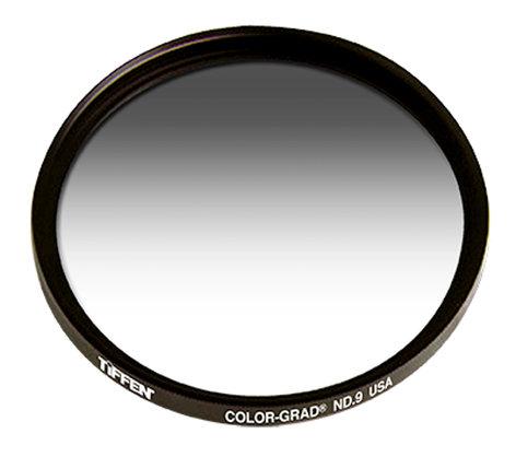 Tiffen 62CGND6 Filter, 62MM Color Graduated, Neutral Density, 0.6 62CGND6