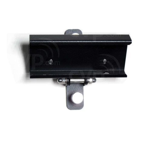 Aladdin AMS-02-1/4TH EYE-LITE Tilting Holder 1/4-Inch Thread Tilting Holder for EYE-LITE LED Fixture AMS-02-1/4TH