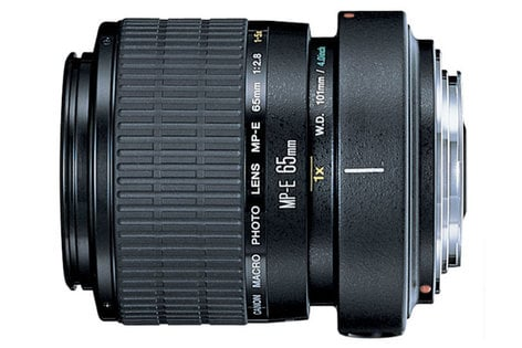 Canon 2540A002 MP-E, 65mm, f/2.8, 1-5x, Macro Photo Lens 2540A002