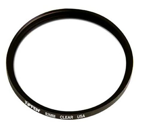 Tiffen 82CLRUN 82mm Uncoated Clear Filter 82CLRUN