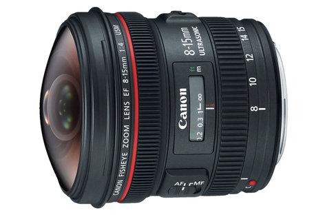 Canon 4427B002 EF 8-15mm f/4L Fisheye USM Lens 4427B002