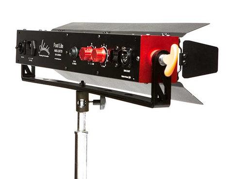 Aladdin FOOT-LITE Kit - Bi-Color 50W Bi-Color LED Fixture with Power and Intergrated DMX AMS-FT50T/DKIT