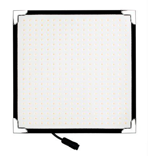 "Aladdin AMS-FL50BI-KIT BI-FLEX1 Kit - Bi-Color 50W 12""  x 12"" Flexible Bi-Color LED Panel with Accessories AMS-FL50BI-KIT"