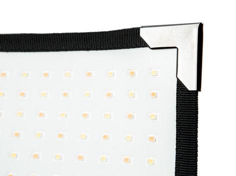 "Aladdin AMS-FL50BI-KIT1-SC BI-FLEX1 Kit with Case 50W 12 x 12"" Flexible Bi-Color LED Panel with Case and Accessories AMS-FL50BI-KIT1-SC"