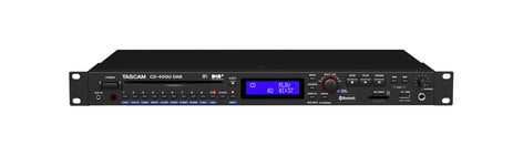 tascam cd400u rackmount cd media player with bluetooth receiver and am fm tuner full compass. Black Bedroom Furniture Sets. Home Design Ideas