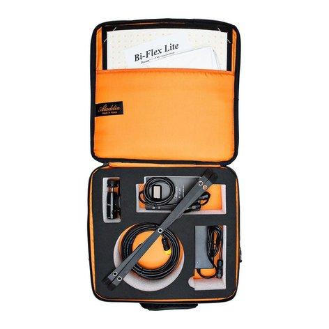 """Aladdin BI-FLEX1 V-Mount Kit with Case 50W 12 x 12"""" Flexible Bi-Color LED Panel with V-Mount Battery Plate and Case AMS-FL50BI-KIT1-SCVM"""