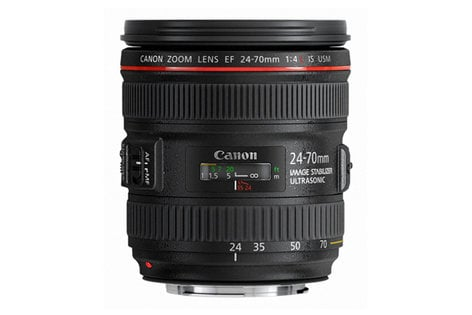Canon 6313B002 EF 24-70mm f/4L IS USM Zoom Lens 6313B002