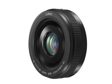 Panasonic H-H020AK Black Lumix G 20mm F1.7 II ASPH Lens with MFT Mount H-H020AK