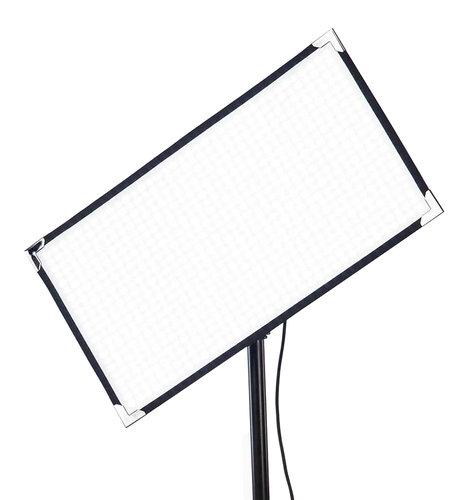 Aladdin BI-FLEX2 V-Mount Kit with Case 100W 1' X 2' Bi-Color LED Panel with V-Mount Battery Plate and Case AMS-FL100BIKITC-VM