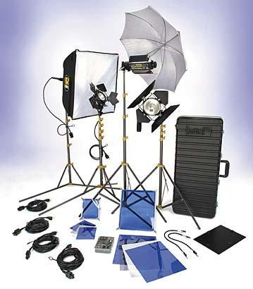 Lowel Light Mfg DV-9034Z DV Creator 55 Kit DV-9034Z