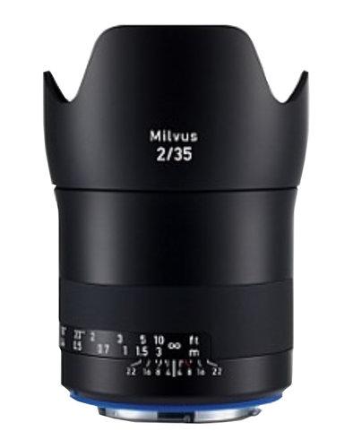 Zeiss 2096-555 Milvus 2/35 ZE Lens 2096-555