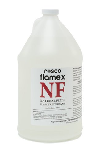 Rosco Laboratories flamex NF 5 Gallon Container of Natural Fiber Flame Retardant FLAMEX-NF-5GAL