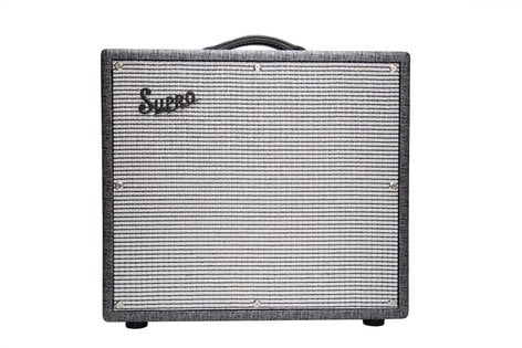 Supro 1695T Black Magick [DISPLAY MODEL] 2-Channel 25W 1x12 Tremolo BLACK-MAGICK-DIS