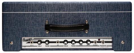 """Supro CORONADO-DIS 1960T Coronado [DISPLAY MODEL] 35 Watt 2x10"""" Tube Combo Amp CORONADO-DIS"""