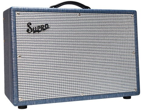 "Supro 1624T Dual-Tone [DISPLAY MODEL] 24 Watt 1x12"" Tube Combo Amp DUAL-TONE-DIS"