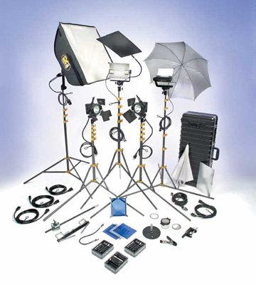 Lowel Light Mfg DVP-95LB DV Pro 55 Kit DVP-95LB