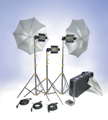 Lowel Light Mfg T1-923LBZ Light Trans-Kit w/ Soft Case T1-923LBZ