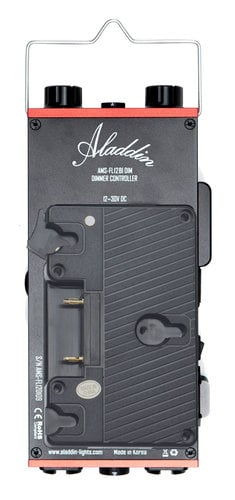 Aladdin AMS-FL200BIKITC-GM BI-FLEX4 Kit with Case 1' x 4' 200W Bi-Color LED Kit with Gold Mount Plate and DMX AMS-FL200BIKITC-GM