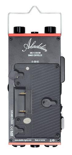 Aladdin BI-FLEX4 Kit with Case 1' x 4' 200W Bi-Color LED Kit with Gold Mount Plate and DMX AMS-FL200BIKITC-VM