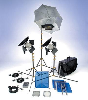 Lowel Light Mfg GO-98LBZ TO GO 98 Kit GO-98LBZ