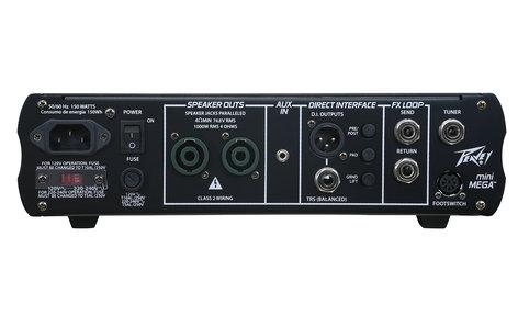 Peavey MINIMEGA-DIS MiniMega [DISPLAY MODEL] 1000W Bass Amplifier Head MINIMEGA-DIS