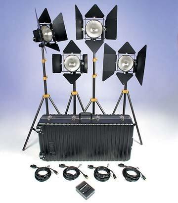 Lowel Light Mfg D2-94Z DP 4 Kit D2-94Z