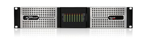 Powersoft Ottocanali 4K4 DSP+D Up to 4kW 2RU Power Amp for Lo-Z and Hi-Z Transducers, with Dante™ Ottocanali 4K4 DSP+D