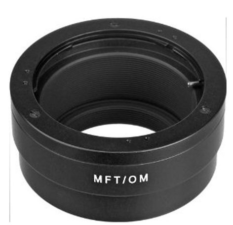 Novoflex MFT/OM Olympus OM Lens to Micro 4/3 Camera Mount Adapter MFT-OM
