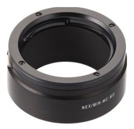 Novoflex NEX/MIN-MD Sony NEX Camera to Minolta MD Lens Adapter NEX-MIN-MD