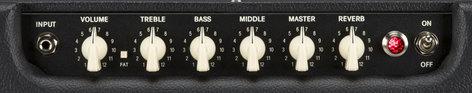 Fender BLUES-JUNIOR-IV Hot Rod Blues Junior IV, Black, 120V Amplifier BLUES-JUNIOR-IV