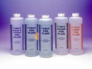 Rosco Laboratories 08500 0034 Rosco Light Fog Fluid, Liter 08500-0034