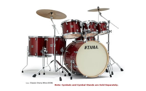 "Tama CL72S 7-Piece Superstar Classic Shell Pack with 22"" Bass Drum CL72S"