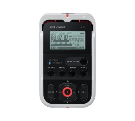 Roland R-07 Ultra-Portable Handheld Recorder with Bluetooth® R07