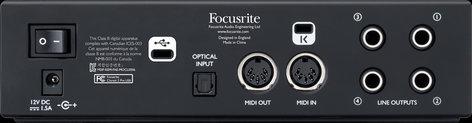Focusrite Clarett 2Pre USB 10-In, 4-Out Audio Interface for PC and Mac CLARETT-2PRE-USB