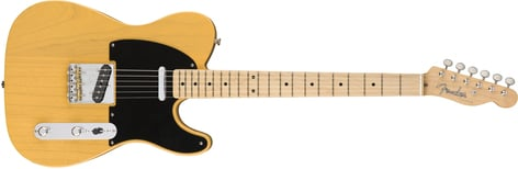 Fender '50s American Original Telecaster Electric Guitar with Maple Fingerboard TELE-AMORG-50-MN