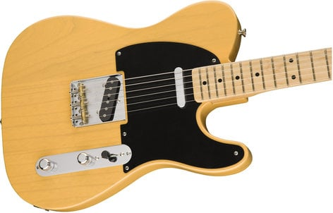 Fender TELE-AMORG-50-MN '50s American Original Telecaster Electric Guitar with Maple Fingerboard TELE-AMORG-50-MN