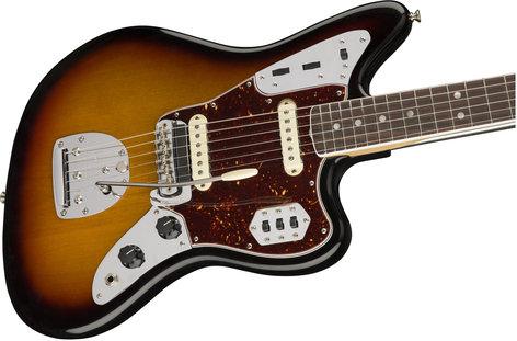 Fender American Original '60s Jaguar Electric Guitar with Rosewood Fingerboard JAGUAR-AMORG-60-RW