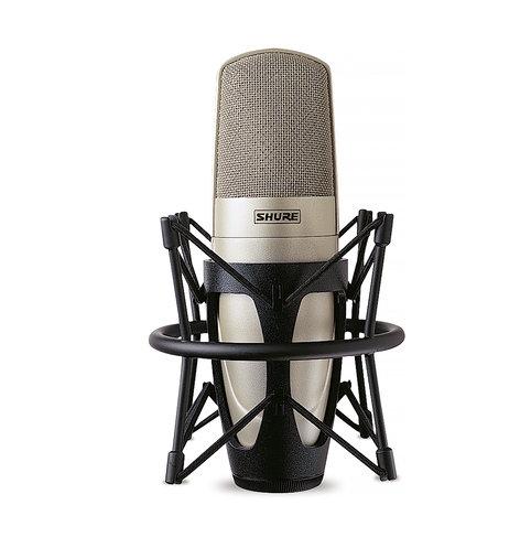 Shure KSM32/SL Studio Condenser Microphone, Champagne finish KSM32/SL