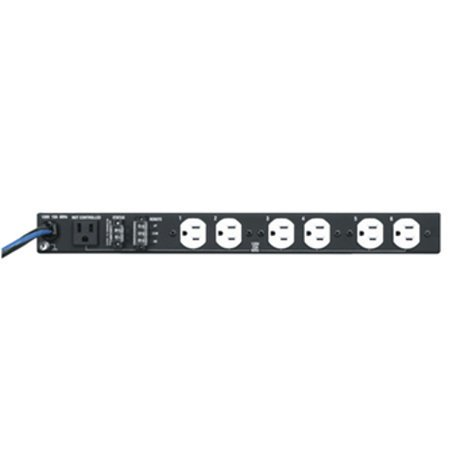 Middle Atlantic Products PDS-615R 6-Outlet Rackmount Power Strip PDS615R