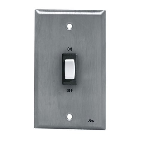 Middle Atlantic Products USC-SW Remote Wallplate Switch Panel USC-SW