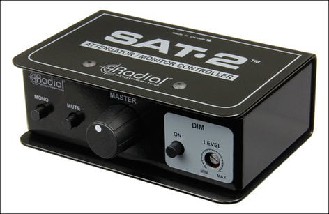 Radial Engineering SAT-2 Stereo Audio Attenuator and Monitor Controller SAT.2