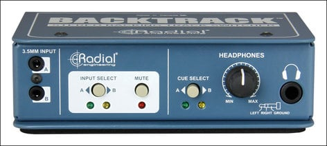 Radial Engineering Backtrack Stereo Audio Switcher BACKTRACK