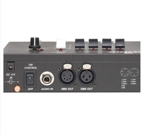 Leviton N3004-00D 3000 Series 4-Channel DMX Controller N3004-00D