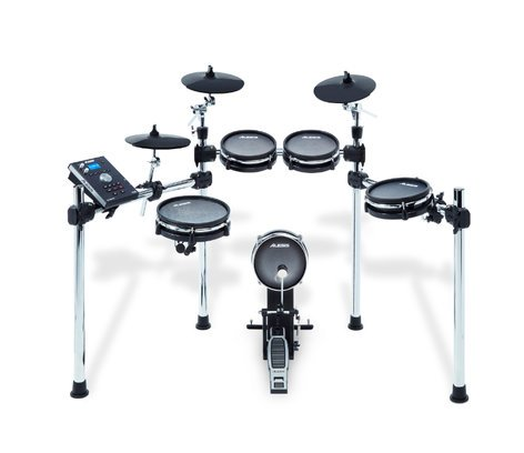 Alesis Command Mesh Kit 8-Piece Electronic Drum Kit with Mesh Heads COMMANDMESHKIT