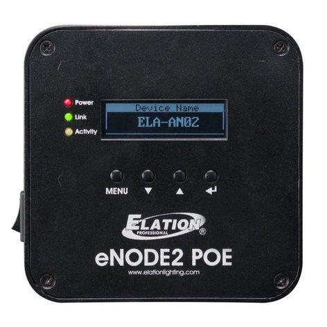 Elation ENODE-2-POE eNode2 POE 2-Universe Ethernet-DMX Node with POE ENODE-2-POE