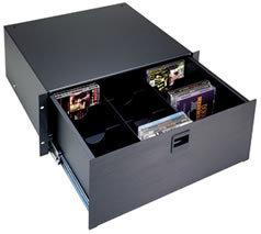Middle Atlantic Products DVDP DVD Drawer Partitioner Option for 40 DVD discs, For D4, TD4, UD3 DVDP